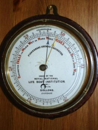 The Lifeboat Station Barometer
